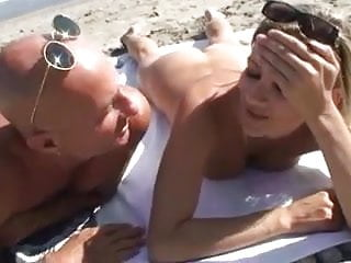 Wife Gang Banged by Strangers On The Beach