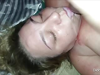 Chubby Girl Milks Out Huge Load Of Cum On Her Face