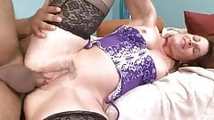 Mature Milf in Stockings Loves a Romp