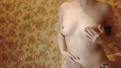 short-haired russian cam-slut