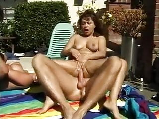 Fabrice & Raven Moore - Beach Bunnies With Big Brown Eyes 6