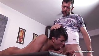 Daddy Joris Barebacks Young Allen
