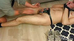 Cock and ball torture by amazing Turkish mistress