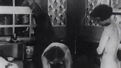 Black Driver Fucks two Ladies in Threesomes (1930s Vintage)'s Thumb