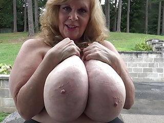 Granny Huge Boob JOI