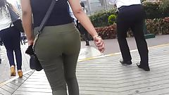 SEXY JEANS GREEN TIGHT