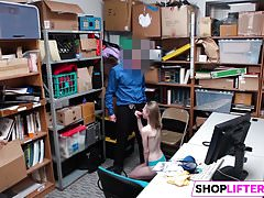 Shoplifting Sweety Catarina Gets Drilled