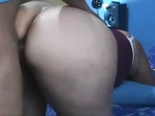 Lucky indian guy fucks his wifes amazing big ass doggystyle
