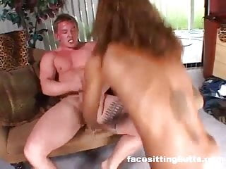 Stud tests his mail order wild black sex slave