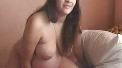 EAST-LADY preggo girl in webcam