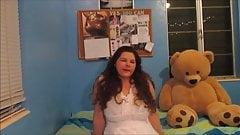 Bedroom Teen With Huge Boobs (Part 3)
