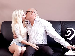 DADDY4K. Sweet Candee chooses an experienced guy