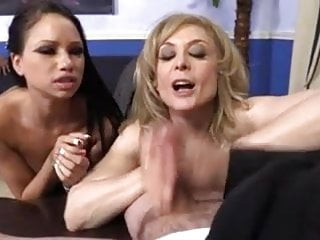 Mature mother and cute not her daughter fucked in front of