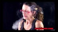 Smoking Fetish - Raleigh Hart Homework Cigarette
