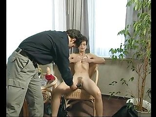 Slim Mature Fingered And Toyed By A Younger Man