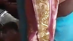 Hot tamil maid flashing