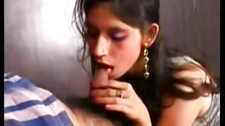 Post Natal Lactating Indian Wife Blowjob