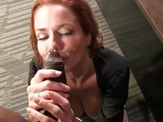 Veronica Avluv gets POV cumshot from BBC