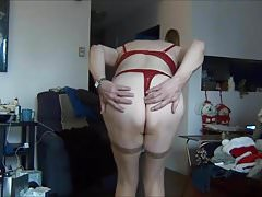 Naughty Gigi - Naughty girl in red