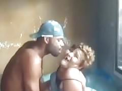 Granny sex with black man