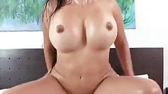 Latina jumping on cock