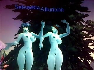 Anime world of warcraft porn - World of warcraft jerk off 3 - draenei sisters