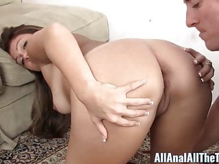 Russian Amateur Spreads Ass to Get Licked only at AllAnal