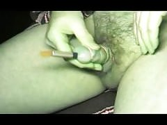 gay man ballbusting ladyboy sounding urethral dildo toy