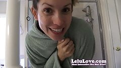 Lelu Love-Sneaky Standing Doggystyle Creampie In Shower