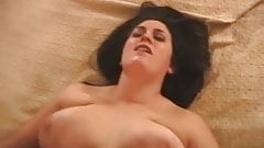 chubby girl fucked and swallows