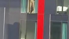 sex in front of the window