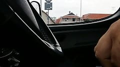 flashing in the car ( caught jerking ) 2