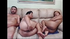 Young and old Latina spread