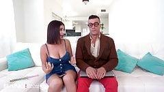 Trickery - Busty Latina Tricks Computer Nerd Into Sex