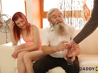 DADDY4K. Unexpected experience with an older gentleman.