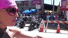 sexy biker chick