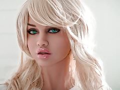 HOT blonde busty sex doll, blowjob anal deepthroat fantasies