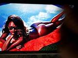 Rihanna's ass cum tribute