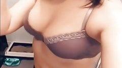 Slutty ex gf tease in lingerie