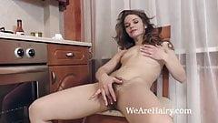 Miranda gets naked in her kitc