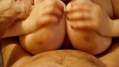 Tittyfucking bbw wife