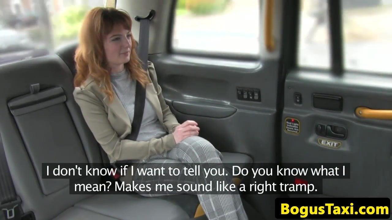 Taxi Milf Blondine Britische Fake British