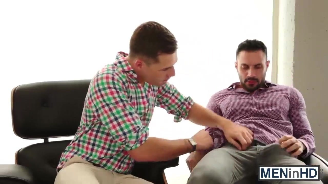 Gay officesex muscle hunks cum after sex