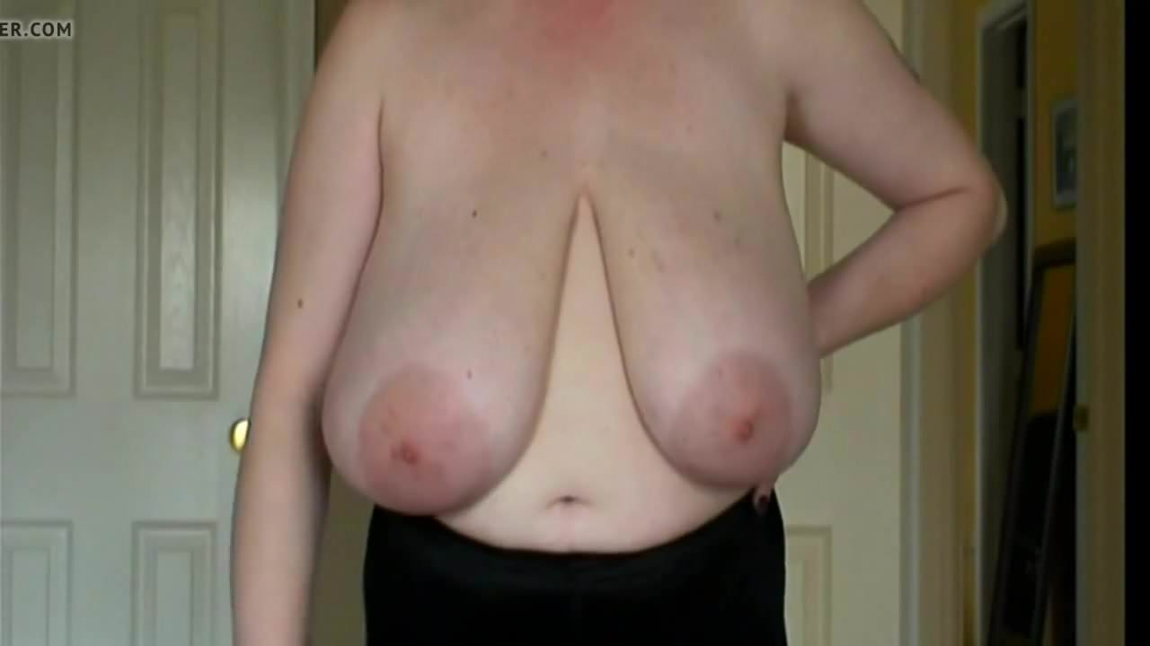 super saggy tits