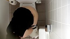 office Wc Spy Cam (Hidden cam cowoker) Tatjana K 6
