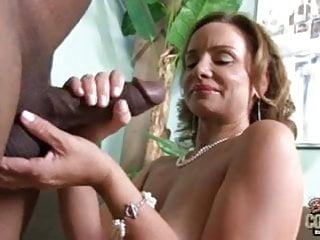 Grandmother Rebecca butt fucked by BBC