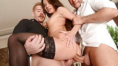Anita Bellini double penetrated