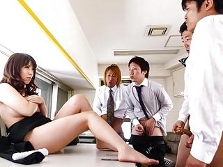 Chinatsu Kurusu gorgeous office gro - More at 69avs.com