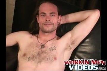 Tough stud jizzing arduous after livid huge cock masturbation