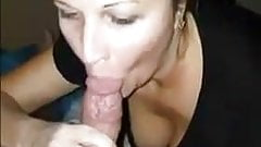 She cant resist sucking that dick